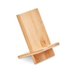 Support de téléphone en bambou