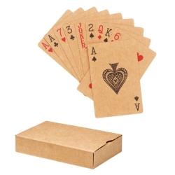 Cartes à jouer papier recyclé