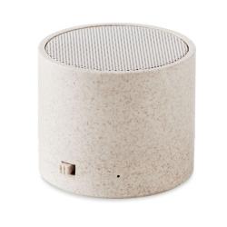 Haut-parleur s/ fil paille blé