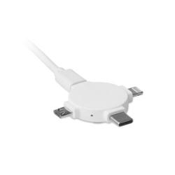 Câble avec adaptateur  3 en 1