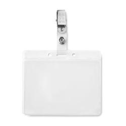 PVC badge holder