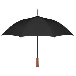 """Parapluie 23 """" manche en bois."""