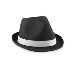 Chapeau de couleur en polyester