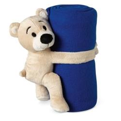 Couverture polaire avec ours