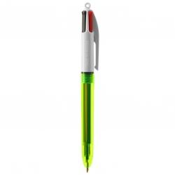 BIC® 4 Colours Fluo Bille