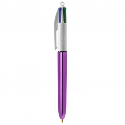 BIC® 4 Colours Shine bille