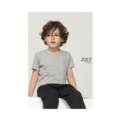 TEE-SHIRT ENFANT JERSEY COL ROND AJUSTÉ CRUSADER KIDS