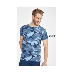 TEE-SHIRT HOMME COL ROND CAMO MEN