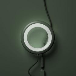 Bily lamp vert jungle