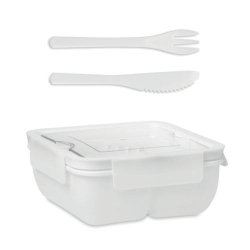 SATURDAY Lunch box avec couverts 600ml