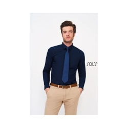 CHEMISE HOMME POPELINE MANCHES LONGUES BALTIMORE FIT