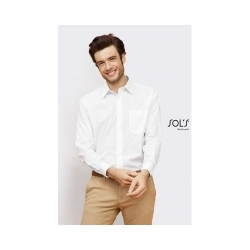 CHEMISE HOMME POPELINE MANCHES LONGUES BALTIMORE